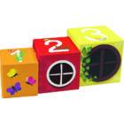 Kocka piramis - memóriajáték - Avenue Mandarine - játék 2 éves kortól - Egyszerbolt Társasjáték