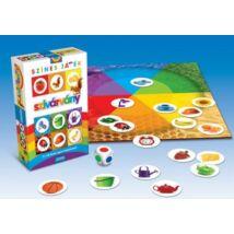 Érzékek sorozat: Szivárvány játékvariációk színekkel társasjáték