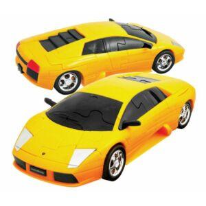 3D Puzzle - Lamborghini Murciélago - sárga