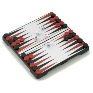 Backgammon, 16x16 cm-es, hordozható - 600502