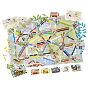 Ticket to Ride: Az első utazás - családi stratégiai társasjáték- Egyszerbolt Társasjáték
