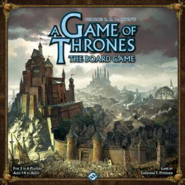 A Game of Thrones (Trónok harca) társasjáték - 2. kiadás (angol nyelvű)