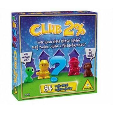 Club 2% logikai társasjáték