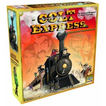 Colt Express társasjáték - magyar kiadás
