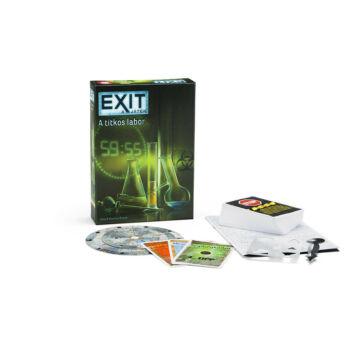 EXIT 2. - A titkos labor - szabadulós játék