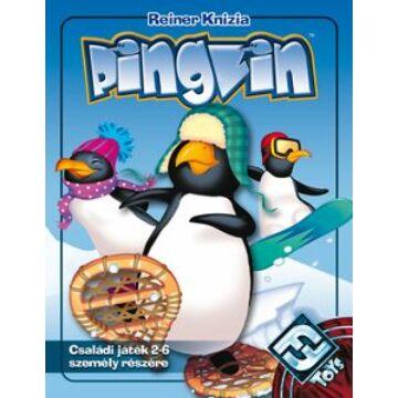 d04fae7c62 Pingvin - magyar kiadás - gyerek logikai társasjáték 8 éves kortól - Delta  Vision