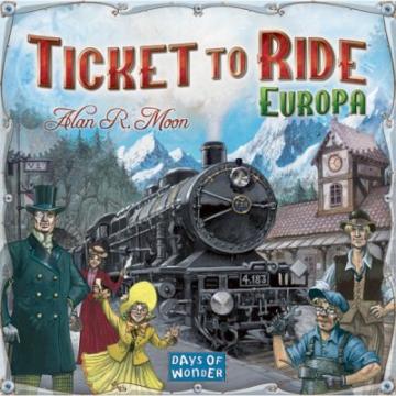 Ticket to Ride Európa társasjáték