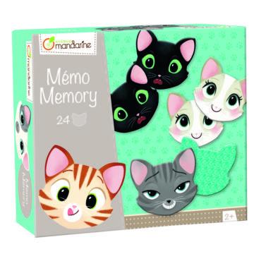 Memó - Cicák arckifejezései memóriajáték