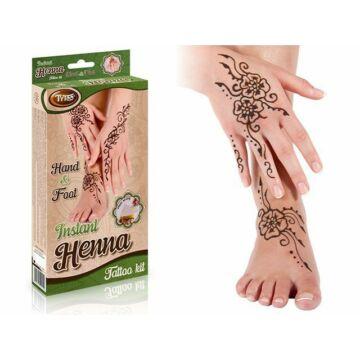 Instant Henna Szett Kéz és Láb mintákkal