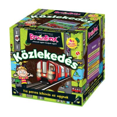 Brainbox - Közlekedés - 4 éves kortól - Egyszerbolt Társasjáték Webáruház