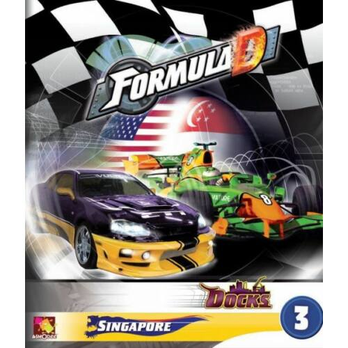 Formula D: új pályák 3 - Szingapúr és a Dokkok kiegészítő - Egyszerbolt Társasjáték Webáruház