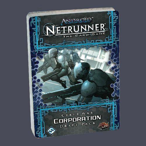 Android: Netrunner - Cyber War Draft Pack Corporation - Egyszerbolt Társasjáték Webáruház