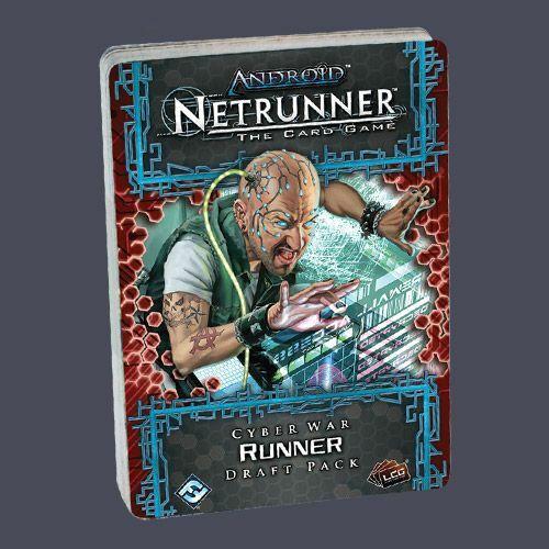 Android: Netrunner - Cyber War Draft Pack Runner - Egyszerbolt Társasjáték Webáruház