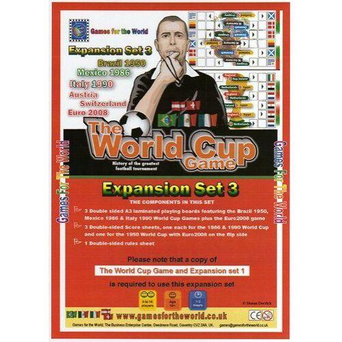 The World Cup Game - expansion set 3 - Egyszerbolt Társasjáték Webáruház