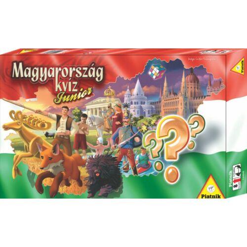 Magyarország Kvíz Junior társasjáték - Egyszerbolt Társasjáték Webáruház
