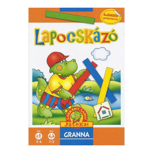 Sárkány Samu játékai Lapocskázó  - képességfejlesztő társasjáték 3 - 7 éves korig - Granna - Egyszerbolt