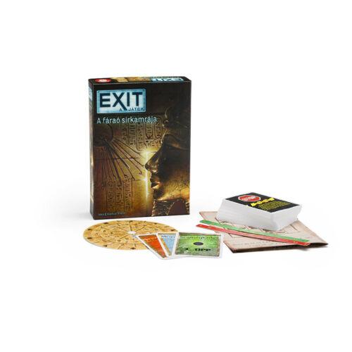 Exit 3 - A fáraó sírkamrája - szabadulós játék 12 éves kortól - Egyszerbolt Társasjáték