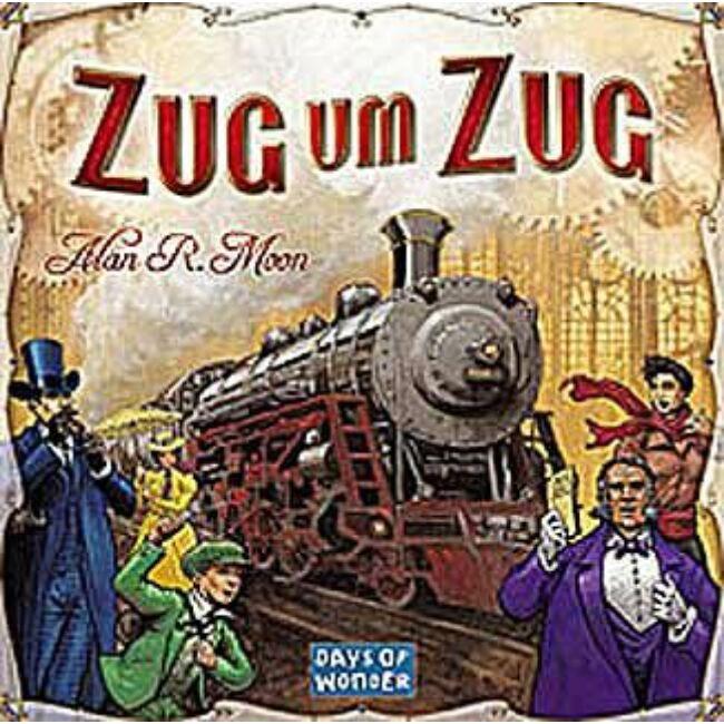 Ticket to Ride (Zug um Zug ) - Egyszerbolt Társasjáték Webáruház