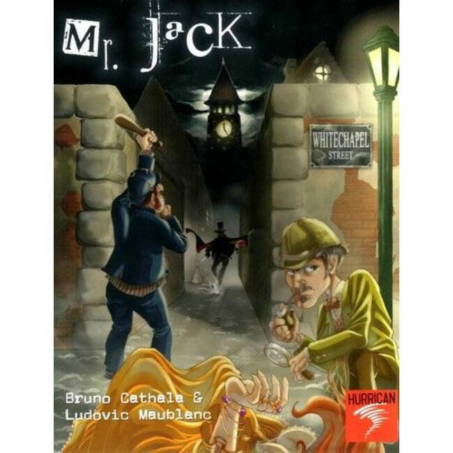 Mr. Jack in London - stratégiai családi játék 9 éves kortól - Egyszerbolt Társasjáték Webáruház