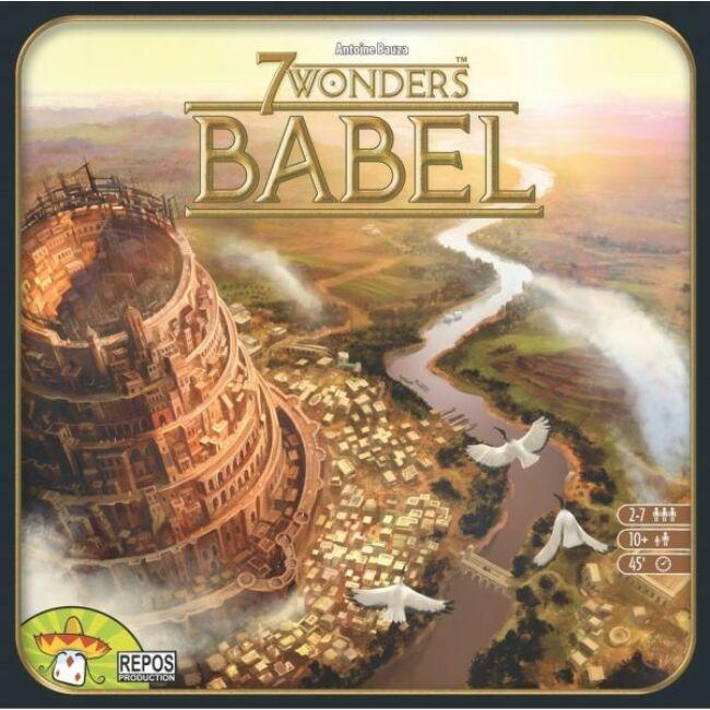 7 Wonders: Babel - társasjáték 10 éves kortól Egyszerbolt Társasjáték Webáruház