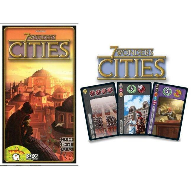 7 Wonders - Cities kiegészítő - társasjáték 10 éves kortól - Egyszerbolt Társasjáték Webáruház