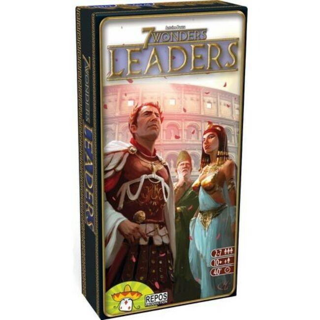 7 Wonders - Leaders kiegészítő - 13 éves kortól - Egyszerbolt Társasjáték Webáruház