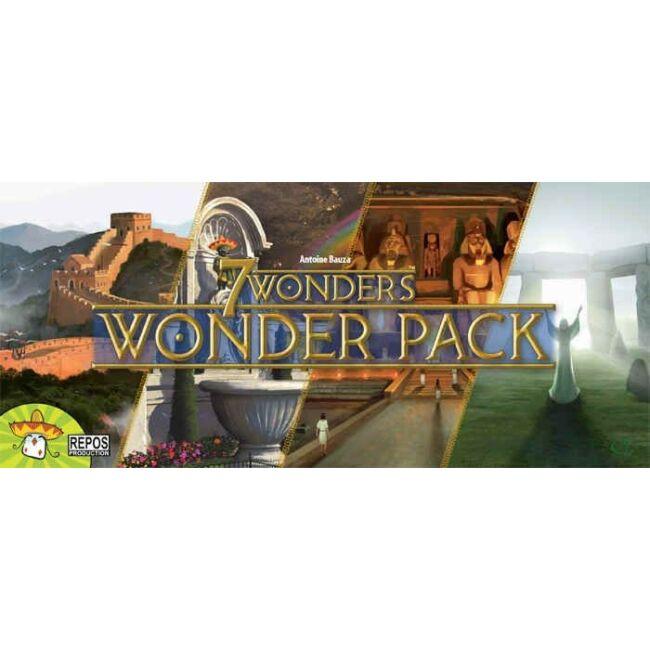 7 Wonders: Wonder Pack (kiegészítő csodák) - 10 éves kortól - Egyszerbolt Társasjáték Webáruház