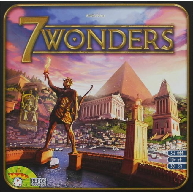7 Wonders - angol kiadás - Egyszerbolt Társasjáték Webáruház