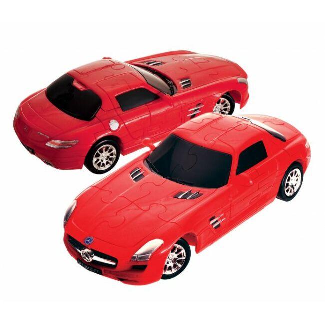 3D Puzzle - Mercedes SLS AMG GT - társasjáték 8 éves kortól - Eureka