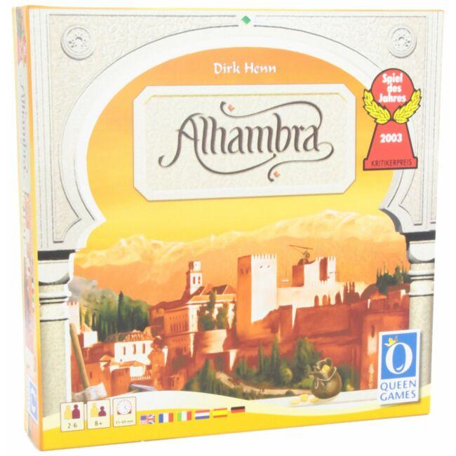 Alhambra - családi stratégiai társasjáték 8 éves kortól - Egyszerbolt