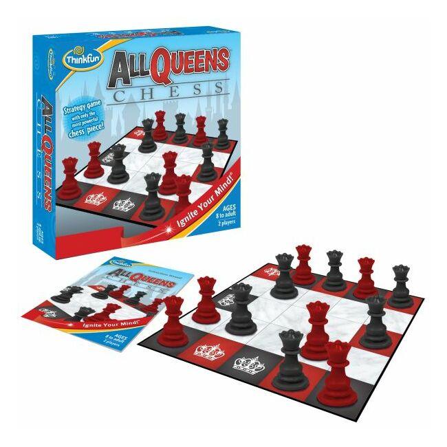 All Queens Chess - logikai képességfejlesztő társasjáték 8 éves kortól - ThinkFun