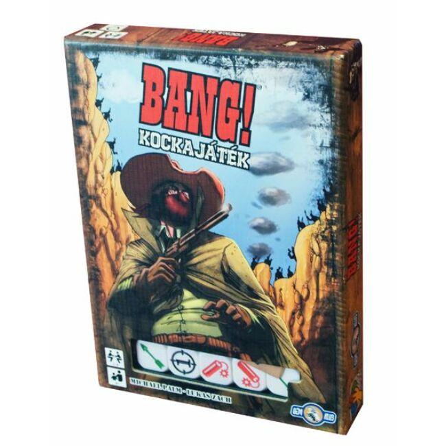 Bang! A kockajáték - magyar kiadás - stratégiai társasjáték 8 éves kortól - Davinci