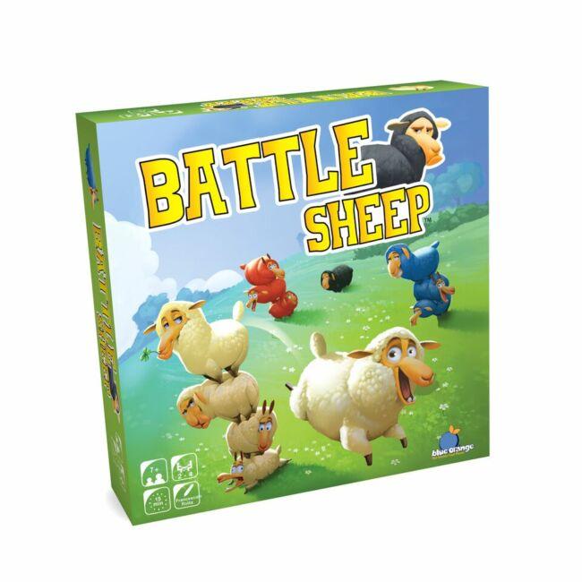 Battle Sheep - logikai társasjáték 8 éves kortól - Blue Orange