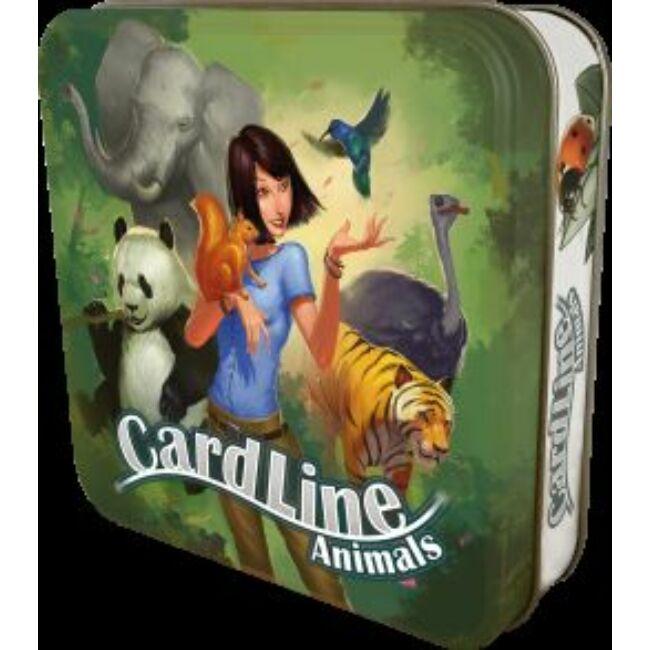 Cardline: Állatok - családi társasjáték 7 éves kortól - Asmodee
