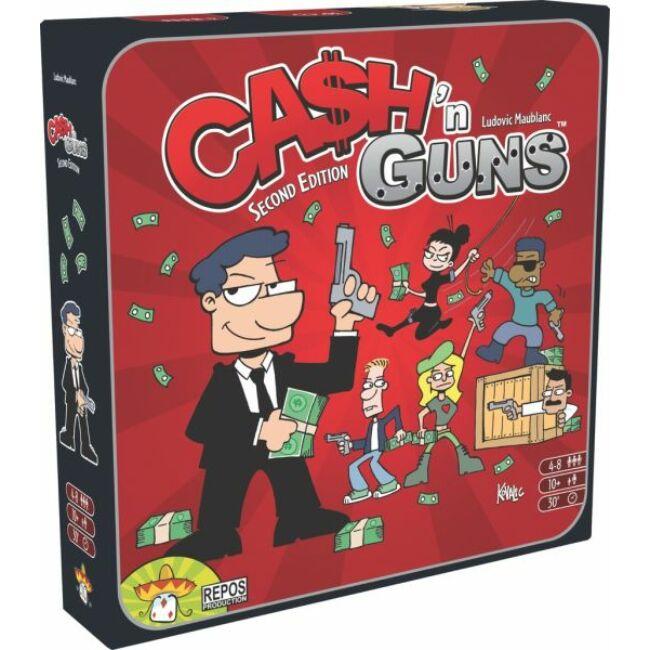 Cash n Guns 2. kiadás - családi stratégiai társasjáték 10 éves kortól - Asmodee