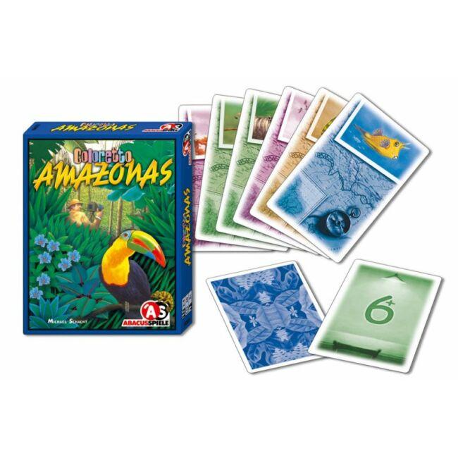Coloretto Amazonas - családi és gyerek társasjáték 8 éves kortól - Abacusspiele