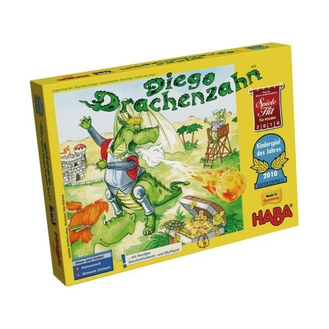 Diego, a sárkány - képességfejlesztő társasjáték 5 éves kortól- HABA - Egyszerbolt