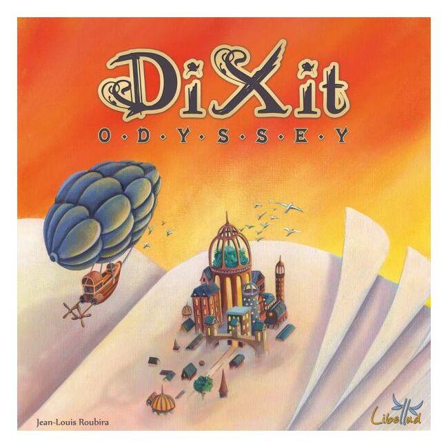 Dixit Odyssey - magyar kiadás - családi gyerek társasjáték 8 éves kortól - Asmodee