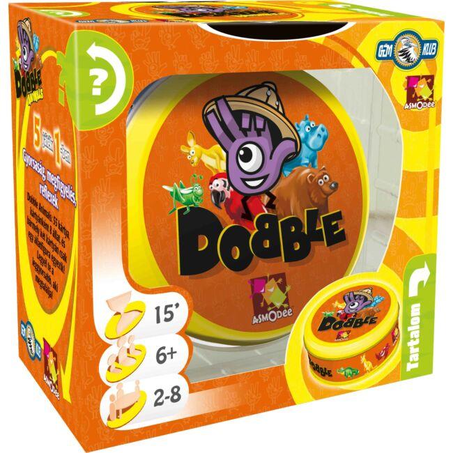 Dobble Animals - gyerek és családi társasjáték 6 éves kortól - Asmodee