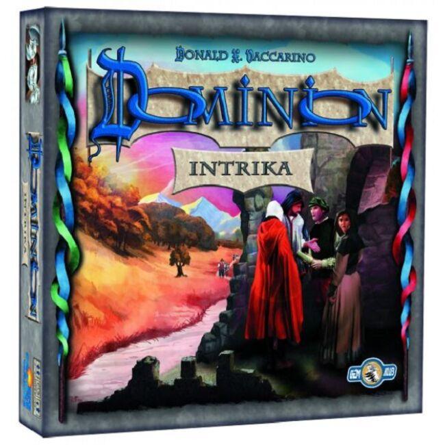 Dominion Intrika - magyar kiadás - stratégiai családi társasjáték 13 éves kortól - Rio Grande