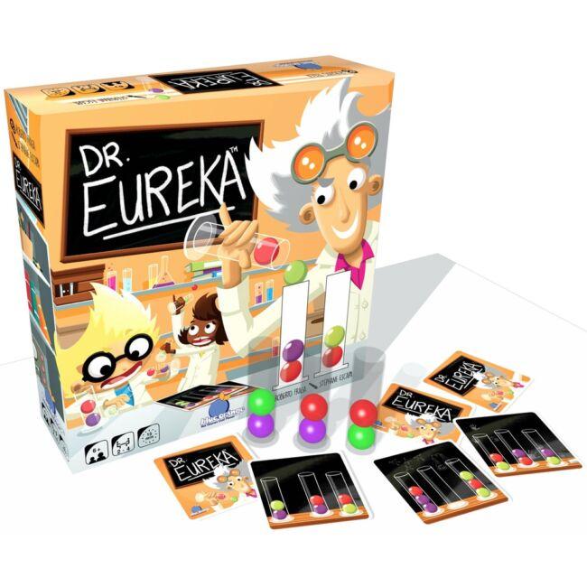 Dr. Eureka - családi társasjáték 6 éves kortól - Blue Orange