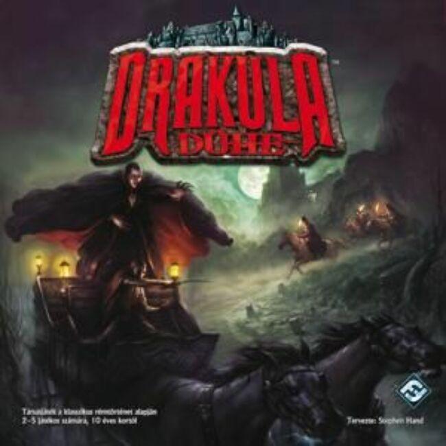 Drakula Dühe - magyar kiadás - kooperatív stratégiai társasjáték 10 éves kortól - Delta Vision