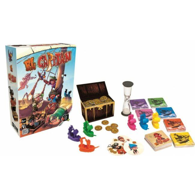 El Capitan - társasjáték 6 éves kortól - Gigamic