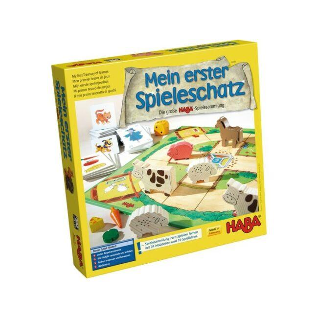 Mein erster Spieleschatz - Első játékgyűjteményem - társasjáték 3 éves kortól - HABA - Egyszerbolt