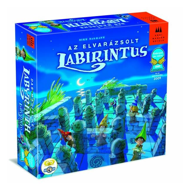 Elvarázsolt Labirintus - képességfejlesztő társasjáték 6 éves kortól - Drei Magier Spiele