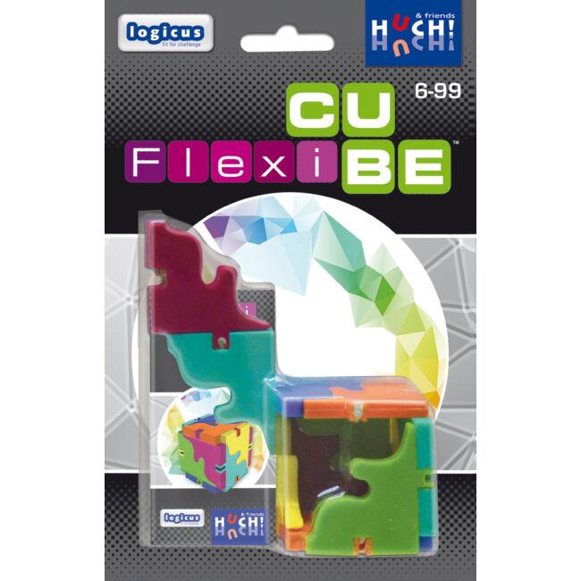 Flexi Cube - gyerek képességfejlesztő és logikai társasjáték 6 éves kortól - Hutter