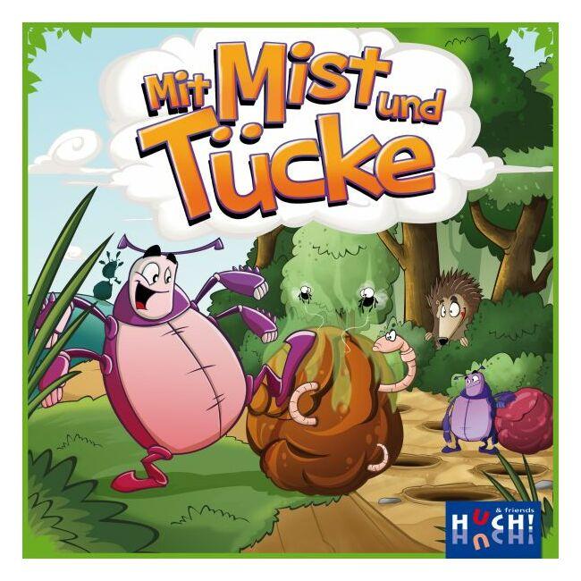 Galacsinfutam - Mit Mist und Tücke - gyerek társasjáték 5 éves kortól - Hutter