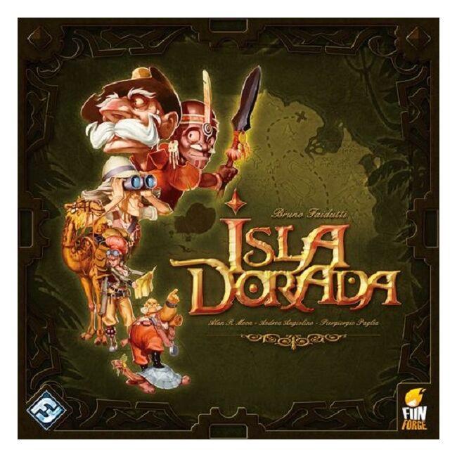 Isla Dorada - magyar kiadás - stratégiai társasjáték 8 éves kortól - Delta Vision