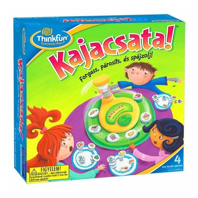Kajacsata-Snack attack - magyar kiadás - képességfejlesztő gyerek társasjáték 4 éves kortól - ThinkFun