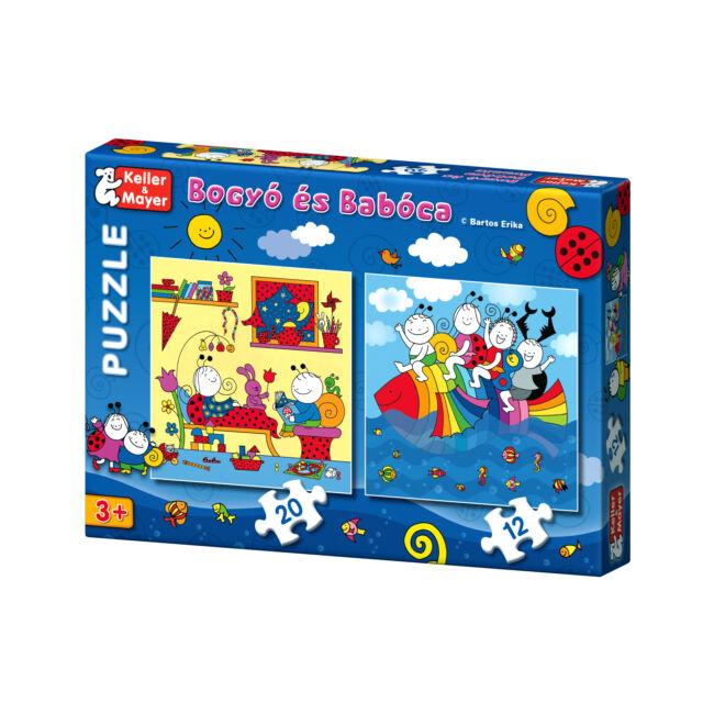 Bogyó és Babóca Puzzle Szivárványhal - 3 éves kortól - Keller & Mayer
